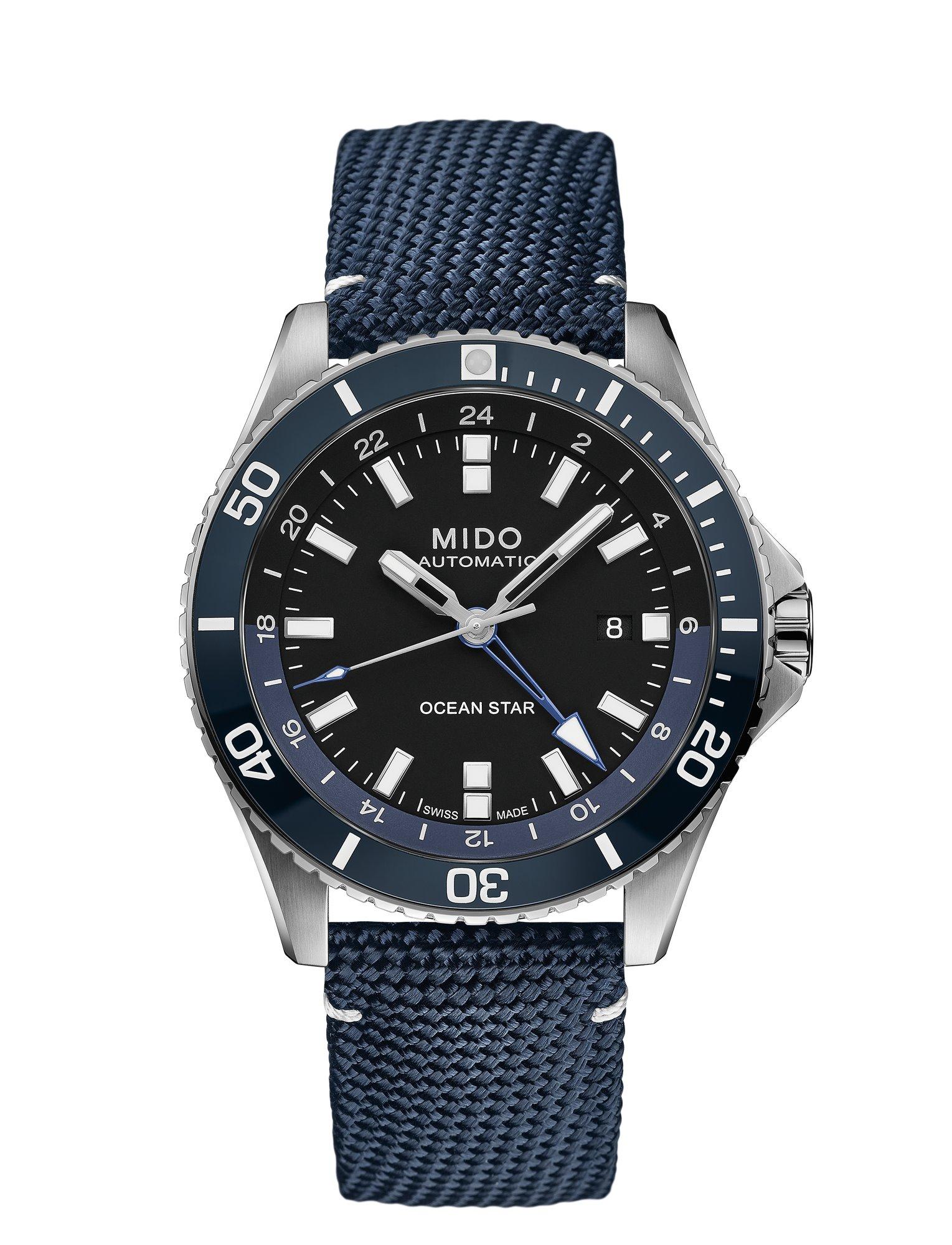 跨越时区,浩海远航——瑞士美度表领航者系列双时区防水腕表