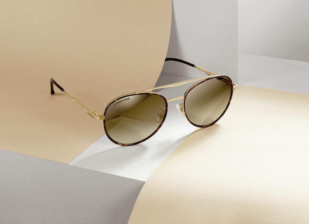 浪琴表推出系列眼镜新品