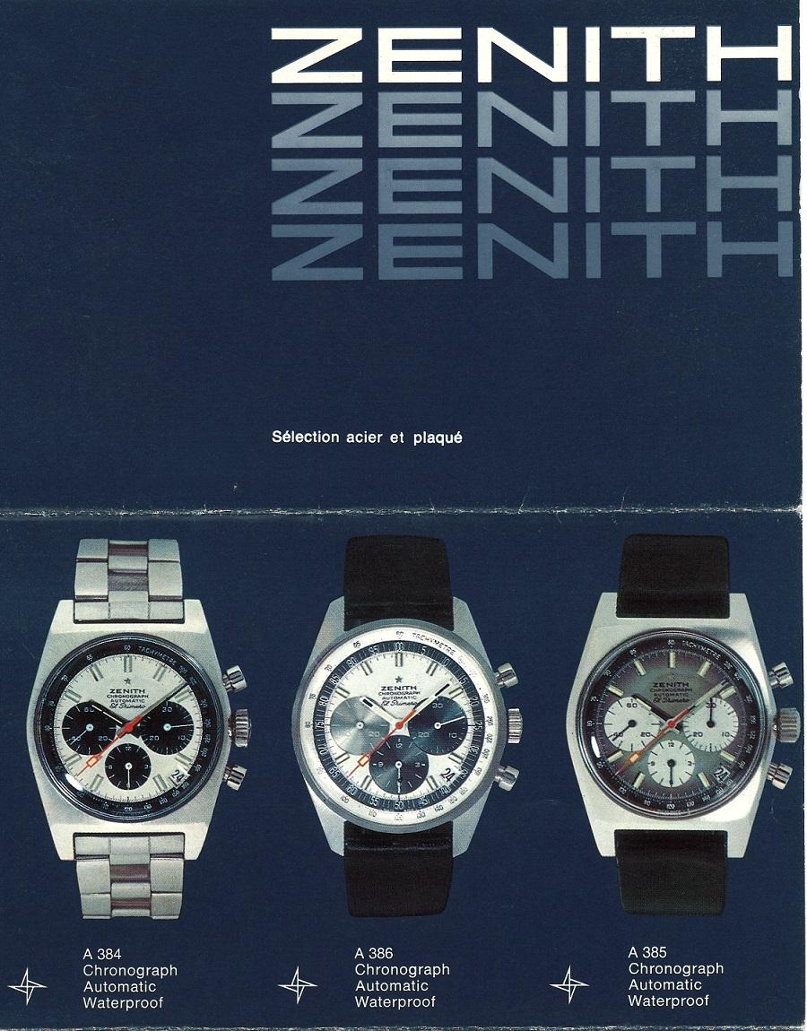 再现1969年出品的第一款渐变表盘EL PRIMERO腕表 重磅推出CHRONOMASTER旗舰系列A385复刻版腕表