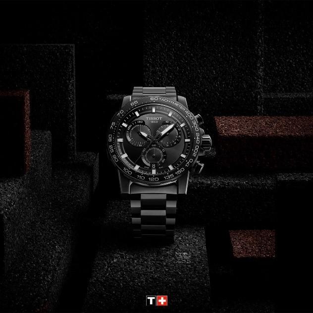 这一刻 硬核本色 TISSOT天梭表携手陈飞宇于生日之际 推出速敢系列新品腕表 演绎全新平面广告