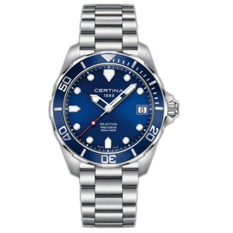 雪铁纳 潜水元素 C032.410.11.041.00 石英 男士