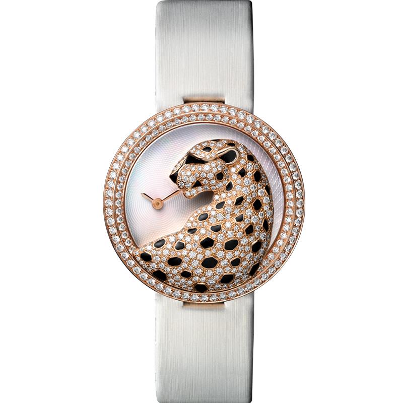 卡地亚 创意宝石腕表 HPI00762 石英 女士