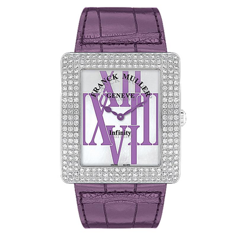 法穆兰 INFINITY 3735 QZ R AL D3(紫色表带) 石英 女士