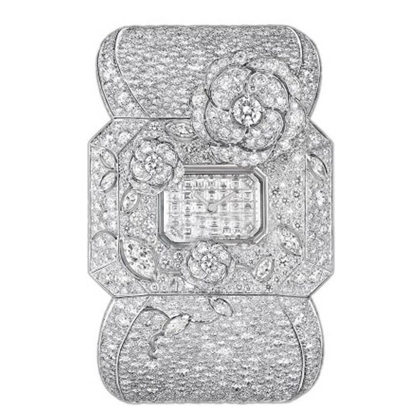 香奈儿 珠宝腕表 J61122 石英 女士