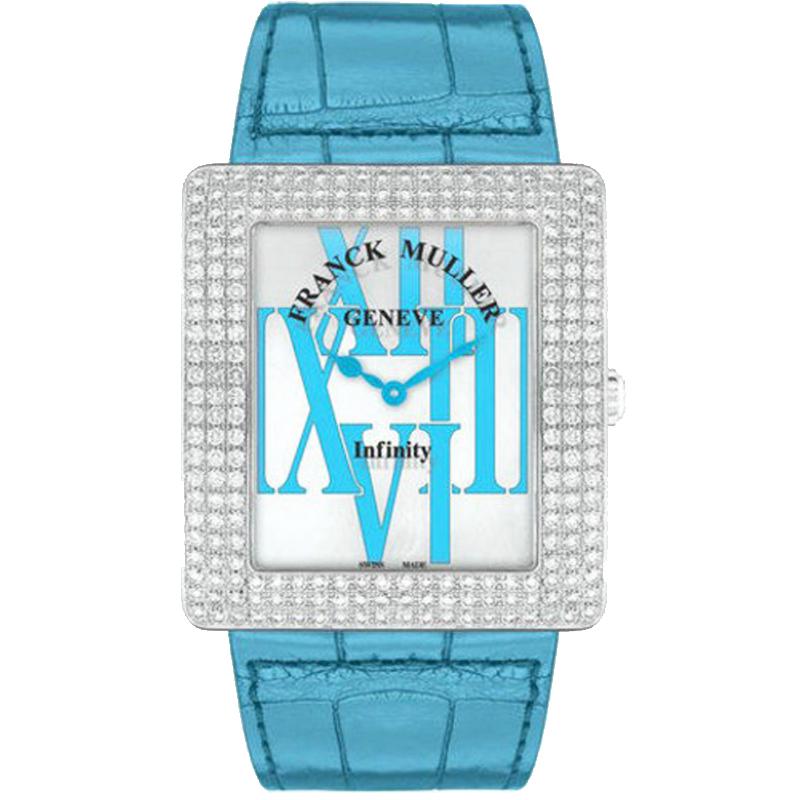 法穆兰 INFINITY 3740 QZ R AL D3 (蓝色表带) 石英 女士