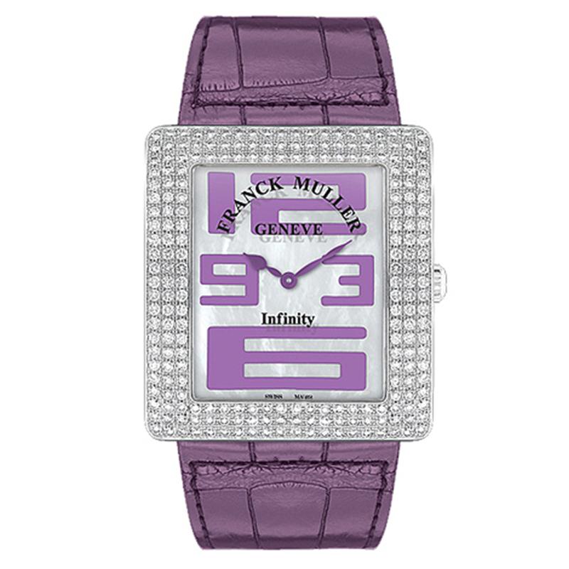 法穆兰 INFINITY 3735 QZ A D3 (紫色表带) 石英 女士