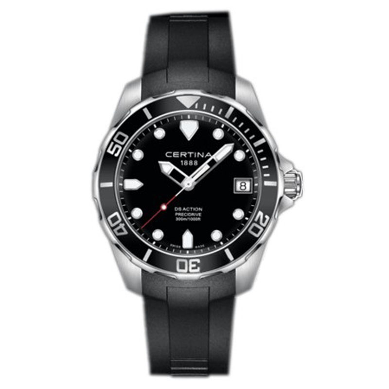 雪铁纳 潜水元素 C032.410.17.051.00 石英 男士