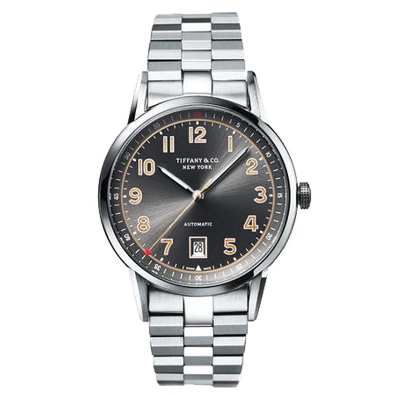 蒂芙尼TIFFANY CT60系列40毫米大三针日历款腕表