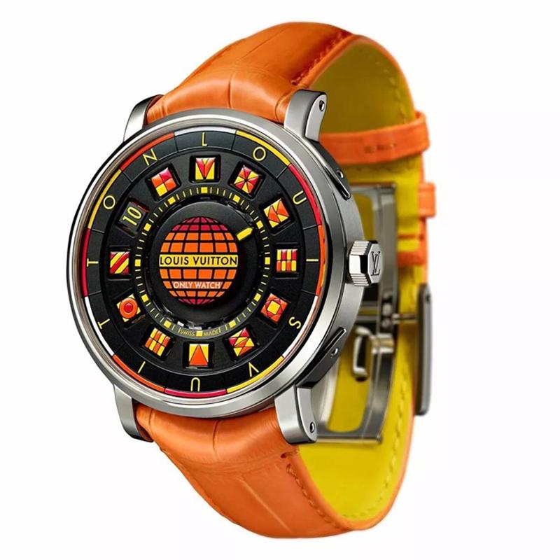 路易·威登 ESCALE Spin Time Black & Fire时光飞旋腕表 自动机械 男士