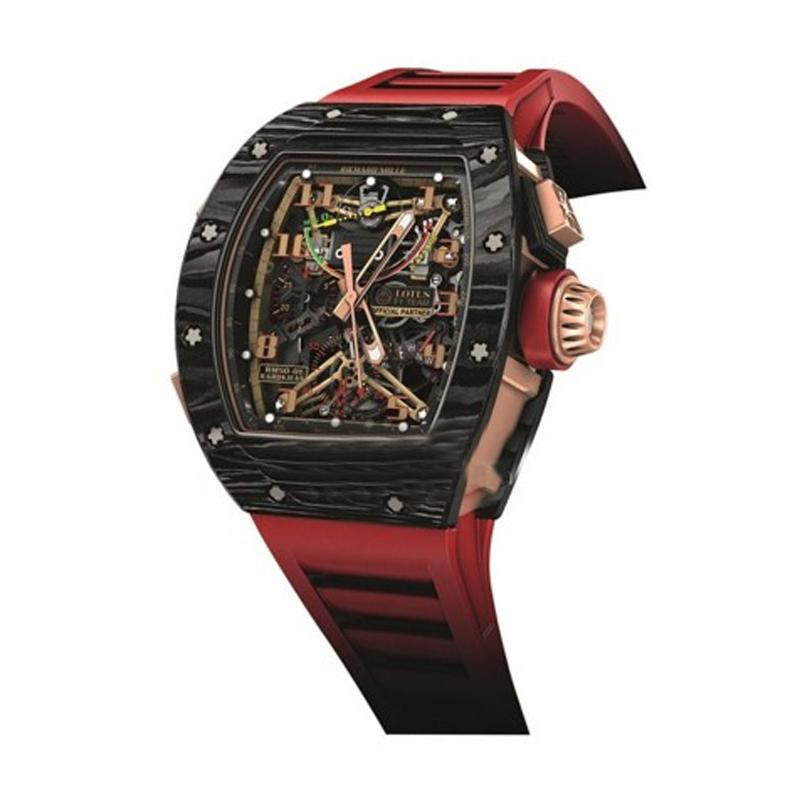 里查德米尔男士系列RM 50-01 LOTUS F1 TEAM ROMAIN GROSJEAN