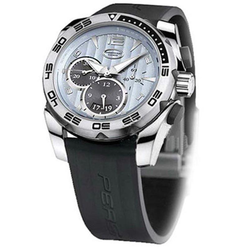 帕玛强尼 PERSHING PF601398.06 黑色表带 自动机械 男士