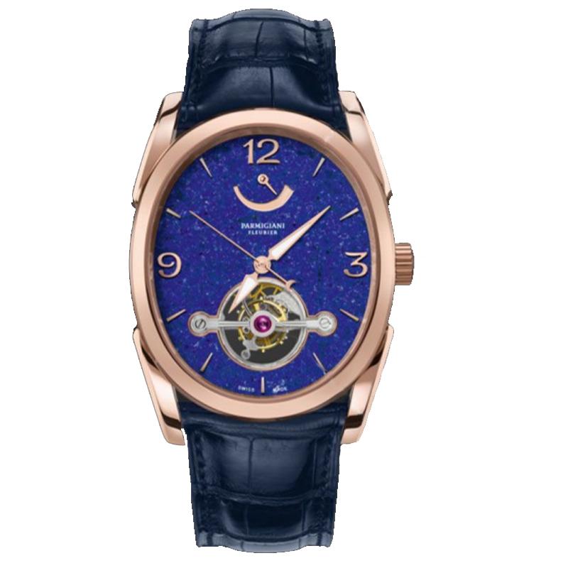 帕玛强尼 OVALE Ovale Tourbillon Lapis Lazuli腕表 男士