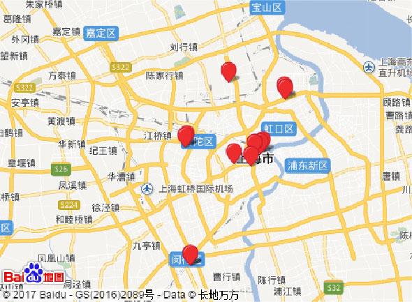 盛时网门店地图